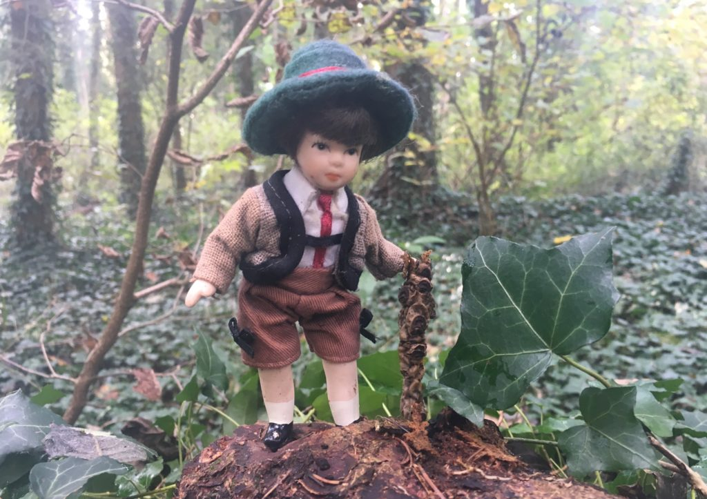 Kinder im Wald; Natur